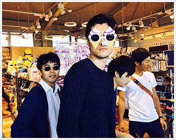 01. 友人と旅行