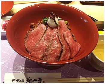 03. ローストビーフ丼♪